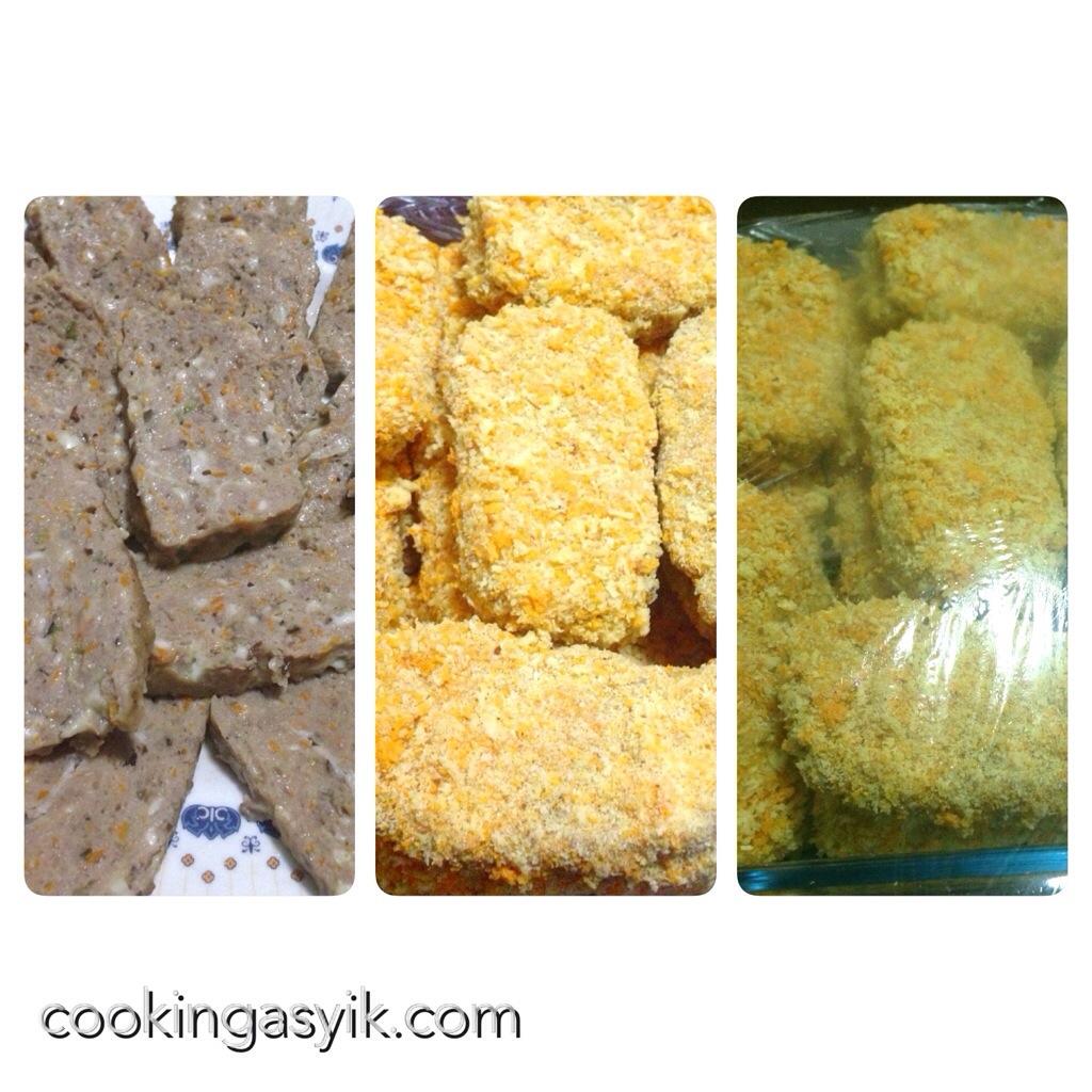 Nugget Adalah: Resep Membuat Nugget Daging Sapi Sayuran Keju Enak